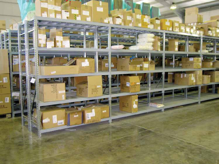 Medium picking shelves 600kg per level, Cyprus
