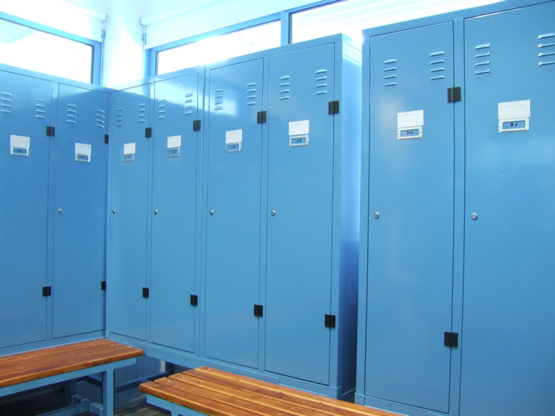 Lockers with seats, Cyprus
