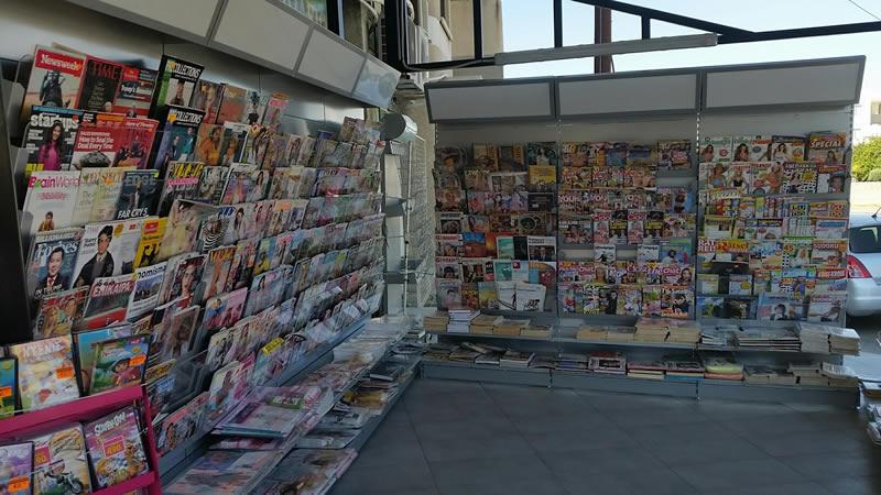 Convenient Store Shelves, Cyprus