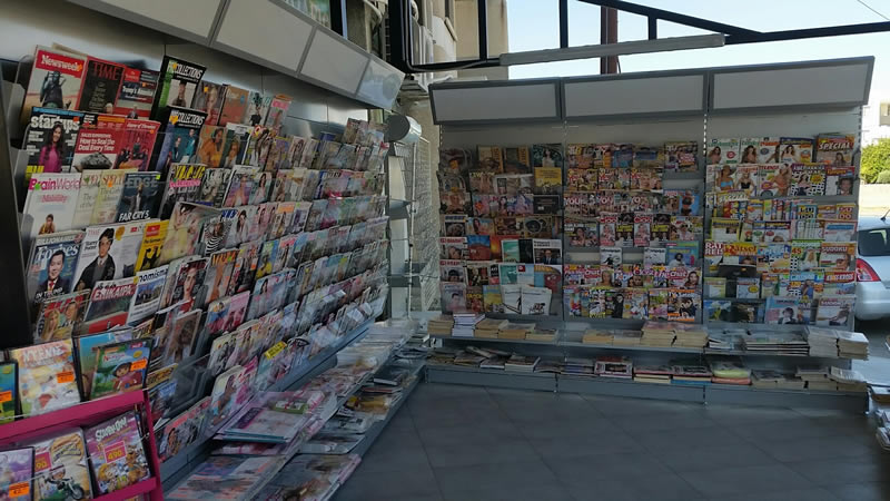 Convenience Store Shelves, Cyprus