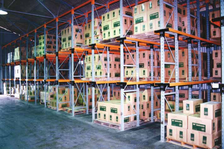 Drive-In pallet. Racking Shelves, Cyprus