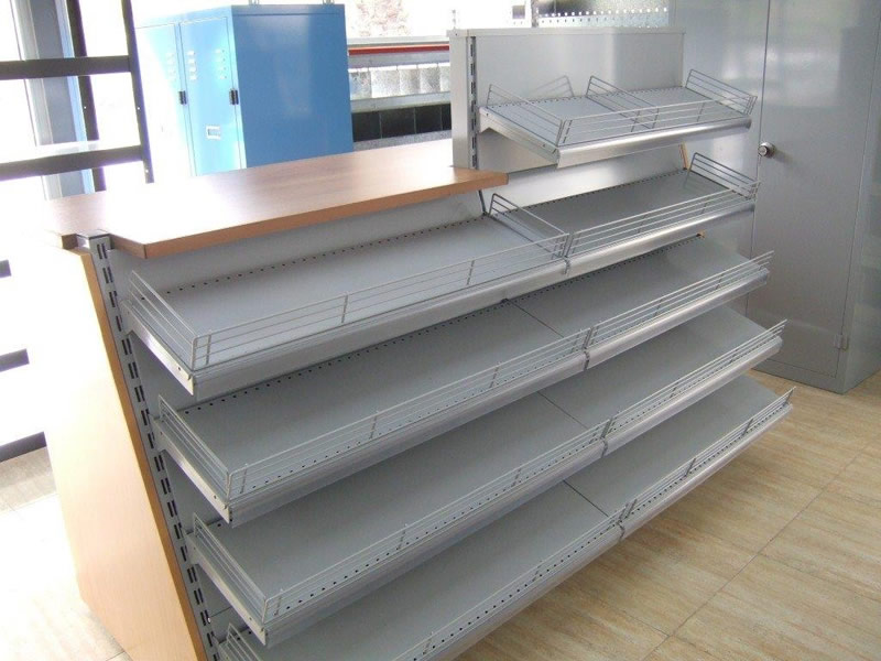 Counter with shelves, Cyprus