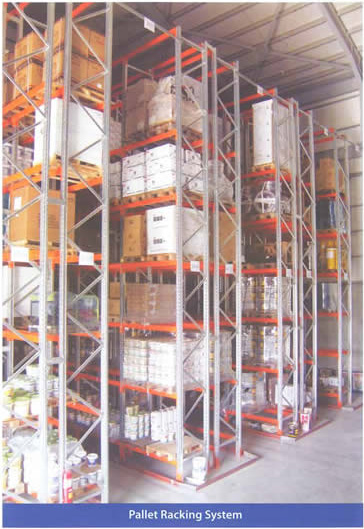 Pallet Racking System Shelves, Cyprus