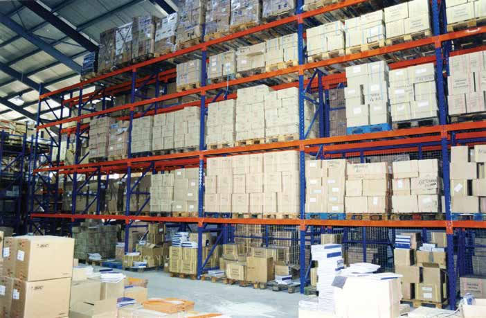 Conventional Pallet Racking Shelves, Cyprus