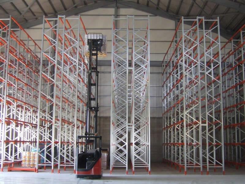 12  metre high pallet racking, Cyprus